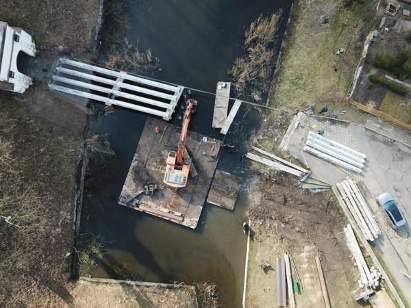 Przebudowa mostu w Zbąszyniu