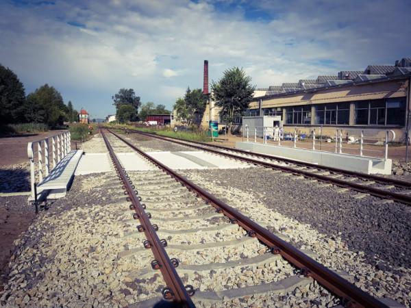 Most Witnica torowiska