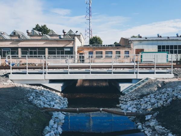 Budowa mostu Witnica