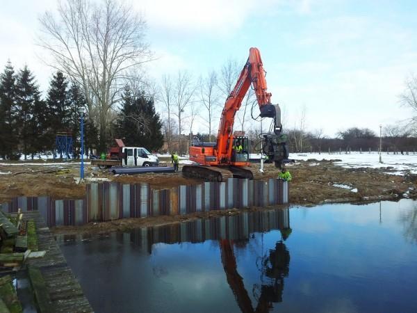 realizacja budowy nabrzeża
