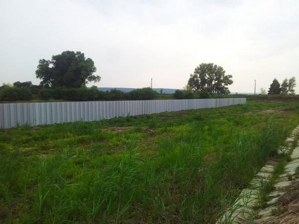 ścianka PCV w oczyszczalni ścieków