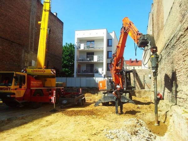 wzmacnianie fundamentów budynku