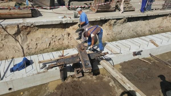 montaż fundamentów